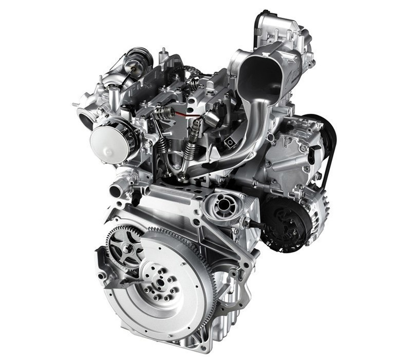New Fiat 500 engine