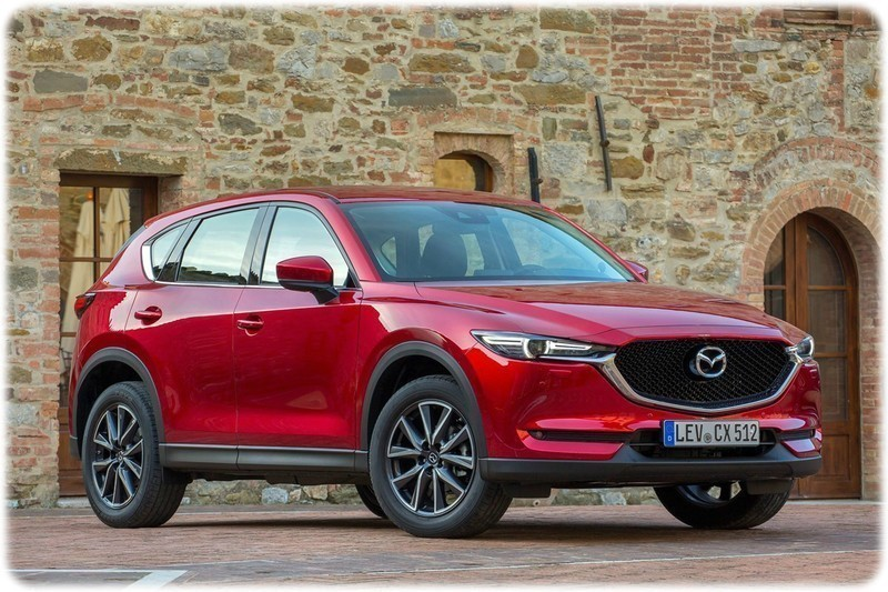 2017 Mazda CX-5 front side on