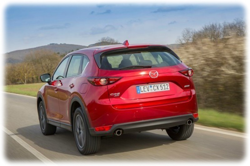 2017 Mazda CX-5 Exterior Rear View