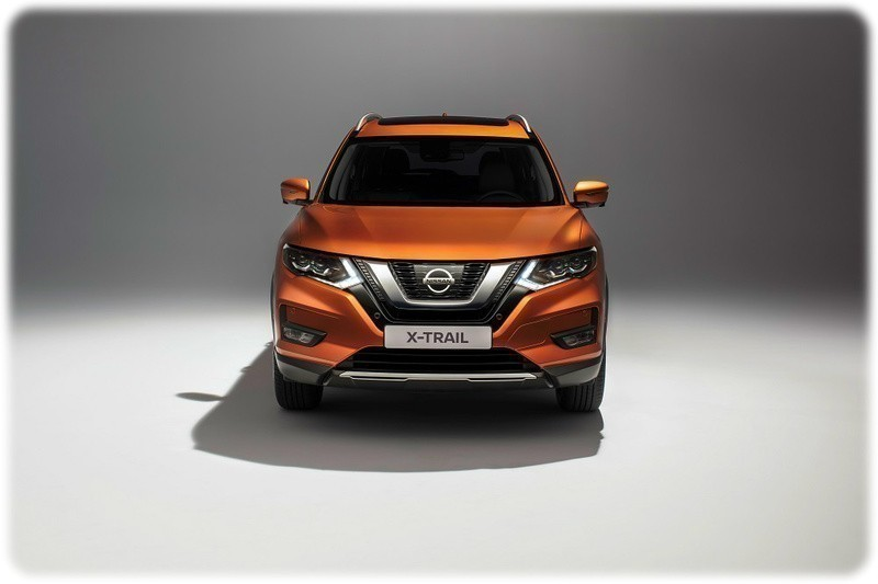 New 2017 Nissan X trail Facelift Model Studio picture
