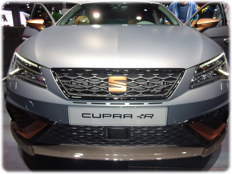 Seat Leon Cupra Front View