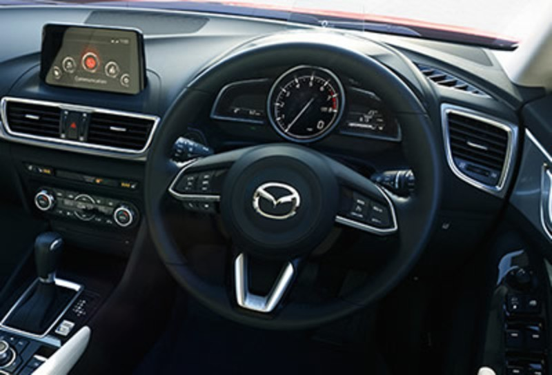 2018 Mazda 3 Interior dashboard image