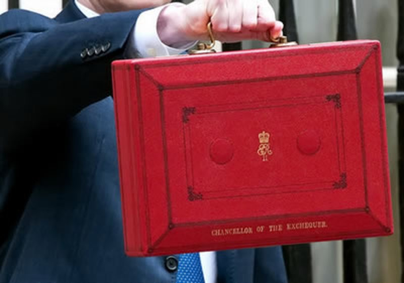 Chancellors Red Briefcase