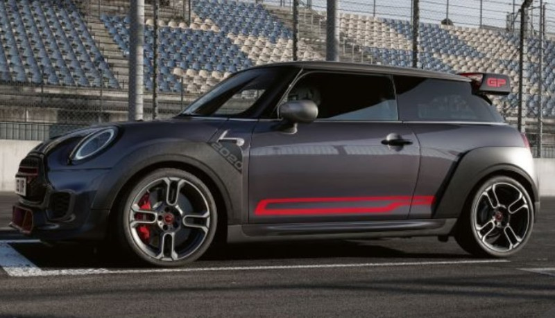 JCW GP Exterior side view