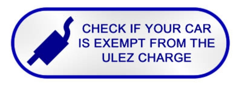 Check if your car is exempt from the ULEZ charge