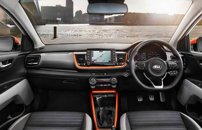 2019 KIA Stonic Interior Dashboard View