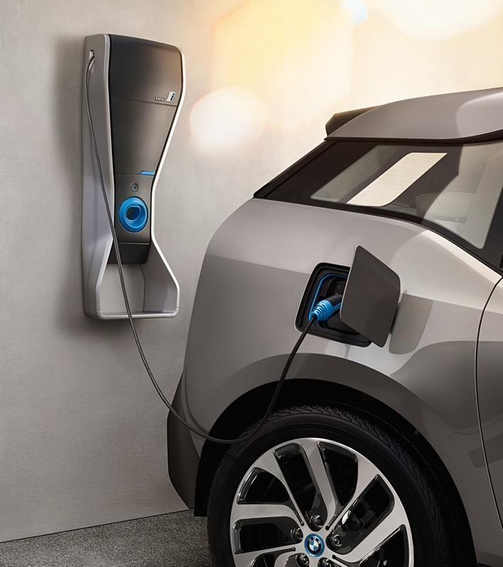 electric car charging at home