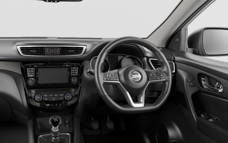2020 Qashqai N-Connecta interior