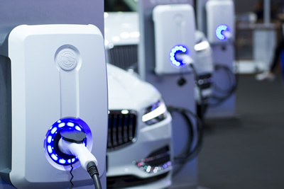 electric car charging station