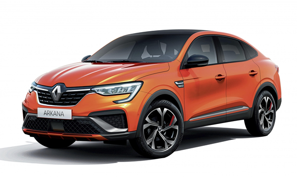 All-New Renault Arkana Coupe-SUV Preview