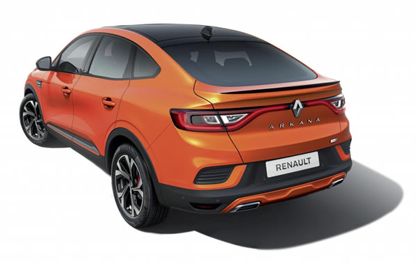 Renault Arkana rear exterior photo