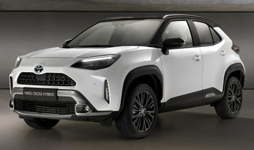 2021 new Toyota Yaris Cross Dynamic exterior image