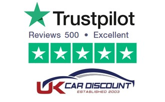500 Trustpilot Reviews - 5 Stars For Our New Car Deals